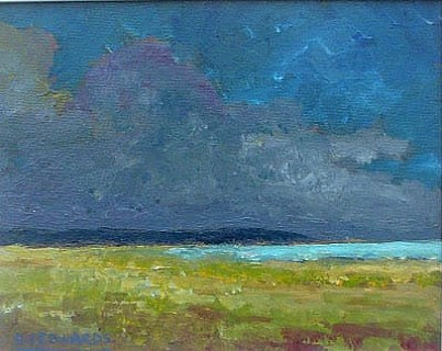Approaching Storm, Mud Bay