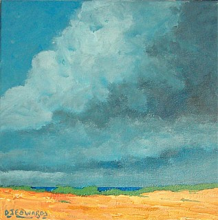 Storm Over Holkham Beach