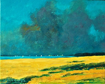 Summer Squall, Suffolk Coast